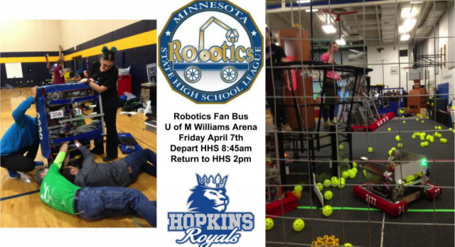 Robotics Fan Bus Information