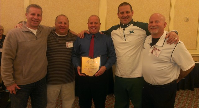 Steve Castner Inducted to OHSFCA Hall of Fame