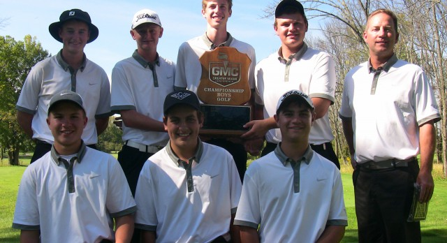 Boys Golf WINS GMC Championship!!!