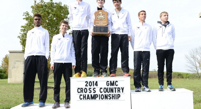 Boys Cross Country Crowned 2014 GMC Champions!
