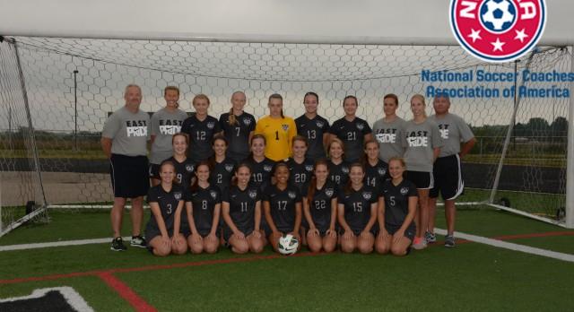 Girls Soccer Recieves 2014 High School National Team Academic Award