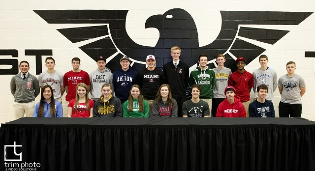 Lakota East Athletes Take Step To Collegiate Level