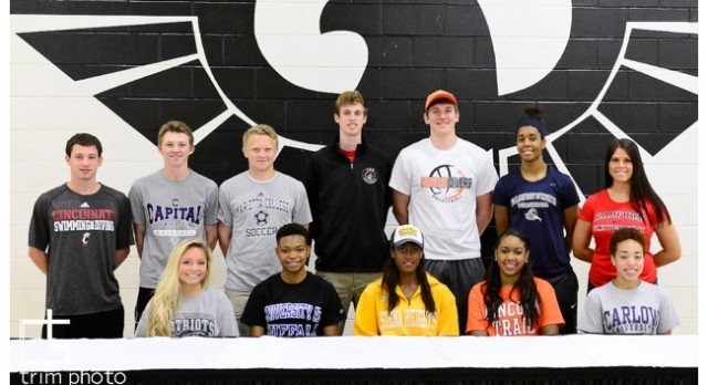 East Athletes Join Collegiate Ranks