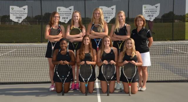 Girls Tennis Sweeps 2 Matches
