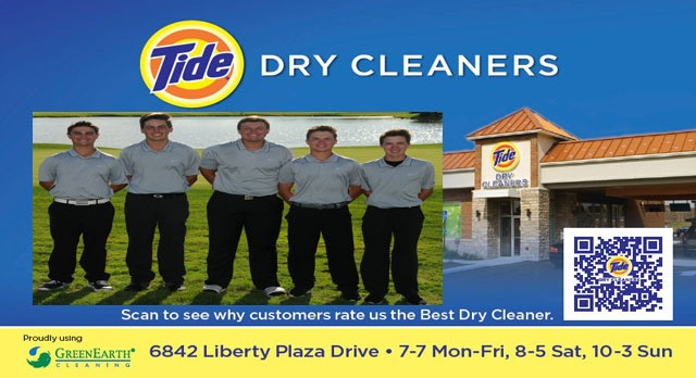 Tide Dry Cleaners Teams of the Week – Boys Golf