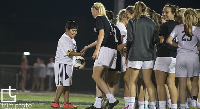 Jose Salgado Wows Women's Soccer Crowd, Raises Money for Bone Marrow Donor Program
