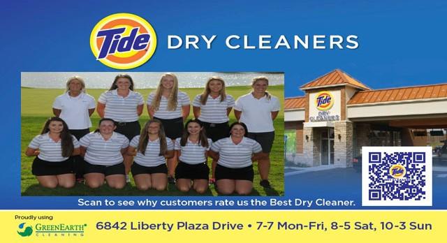 Tide Dry Cleaners Teams of the Week – Girls Golf