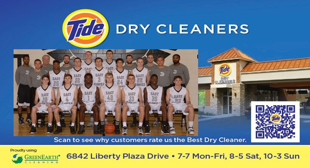 Tide Dry Cleaners Team of the Week – Varsity Boys Basketball
