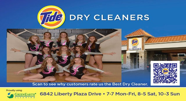 Tide Dry Cleaners Team of the Week – Gymnastics