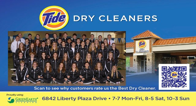 Tide Dry Cleaners Team of the Week – Boys and Girls Swim Teams