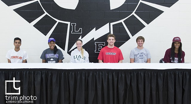 East Athletes Sign National Letters of Intent