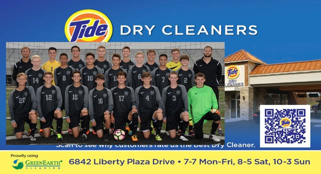 Tide Dry Cleaners Team of the Week – Boys Soccer Team