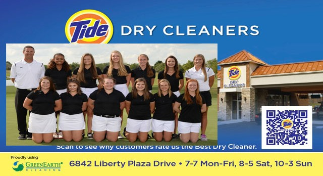 Tide Dry Cleaners Team of the Week – Girls Golf Team