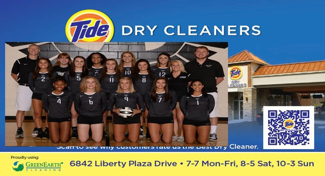 Tide Dry Cleaners Team of the Week – Girls Volleyball Team