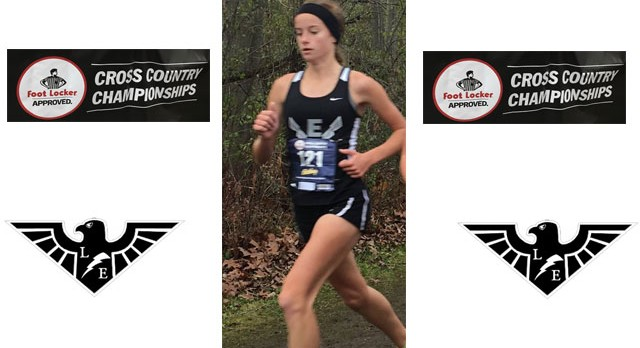 Ali Neumeier 3rd at Footlocker Midwest Cross Country Race