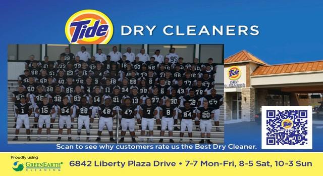 Tide Dry Cleaners Team of the Week – Varsity Football