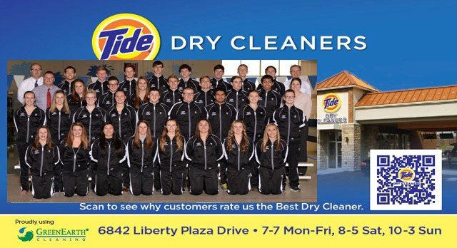 Tide Dry Cleaners Team of the Week – Boys and Girls Swimming