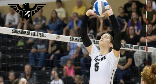 East Alumni Ashley Evans Named Academic All-American at Purdue