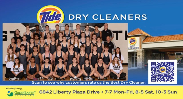 Tide Dry Cleaners Team of the Week – Wrestling