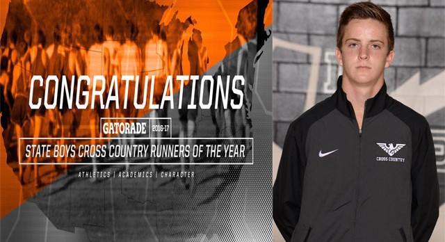 Dustin Horter Named Gatorade Ohio Boys Cross Country Runner of the Year