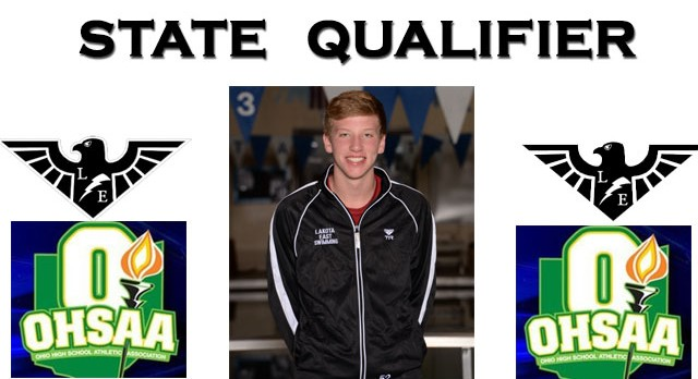 Jacob McDonald Qualifies for State in 500 yard Freestyle!