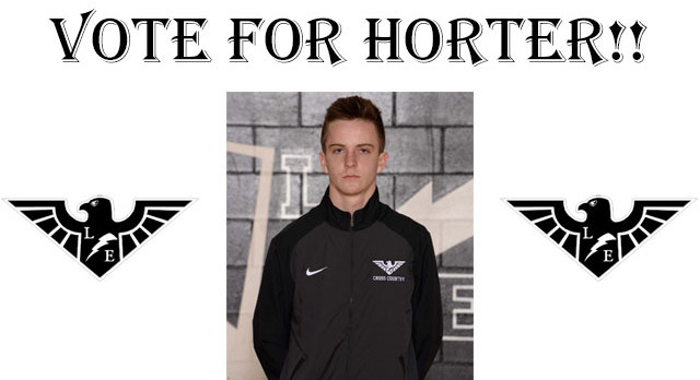 Dustin Horter Nominated for NATIONAL PERFORMER OF THE WEEK!!!!  VOTE NOW!!!