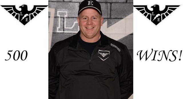 Coach Castner Wins 500!