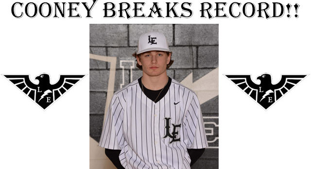 Joseph Cooney Breaks 58 year-old District Strikeout Record!!!