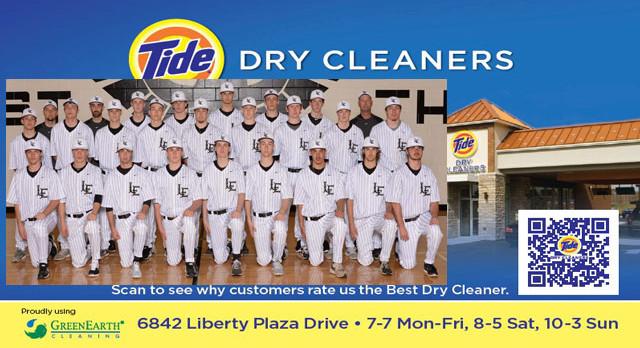 Tide Dry Cleaners Team of the Week – Baseball Team