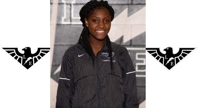 Serena Clark Runner of the Year – Girls Track 2nd at GMC Championships!!
