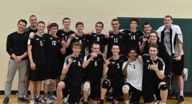 Boys Volleyball Team Repeats As GMC Champions!