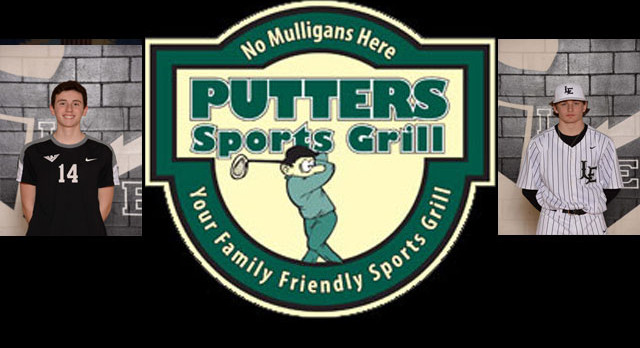 Ethan Hubbard and Joseph Cooney Named PUTTER'S Athletes of the Week