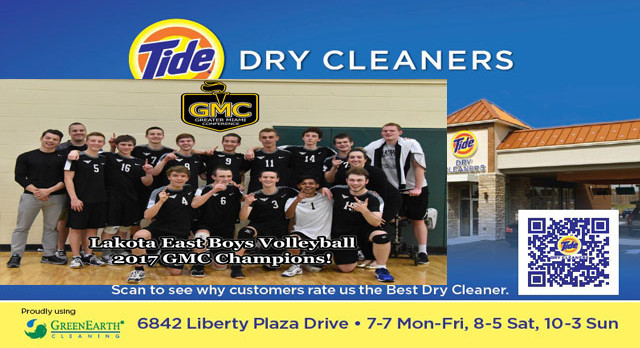 Tide Dry Cleaners Team of the Week – Boys Volleyball