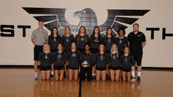 varsity girls VB
