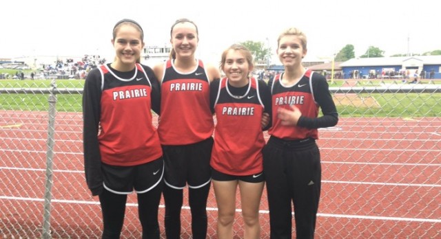 Clinton Prairie High School Coed Varsity Track finishes 11th place