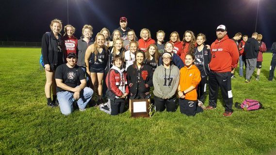 Lady Gophers Track Wins Conference Co-Championship