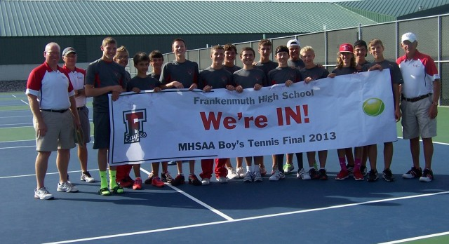 Boys Tennis Qualifies for State Finals!