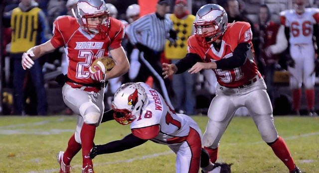 Frankenmuth High School Football Varsity falls to Millington High School 29-33