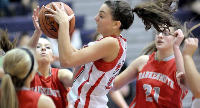 Frankenmuth High School Basketball Varsity Girls beats Millington High School 47-40