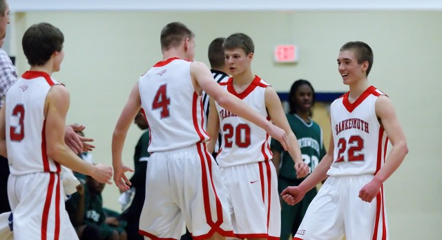 Frankenmuth High School Basketball Varsity Boys beats Northwestern High School 66-55
