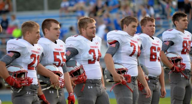 Frankenmuth High School Football Varsity beats Hemlock High School 34-14