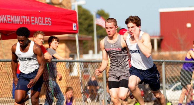Boys Track Defeats Caro High School