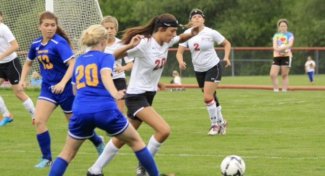 Frankenmuth High School Girls Varsity Soccer falls to Birch Run High School 0-1