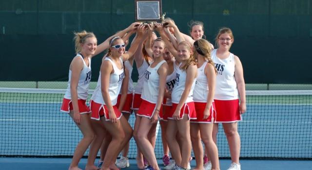 Girls Tennis TVC Champs!