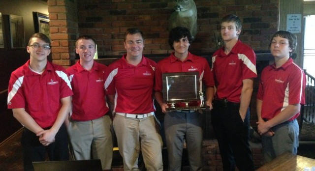 Frankenmuth High School Boys Varsity Golf finishes 6th place