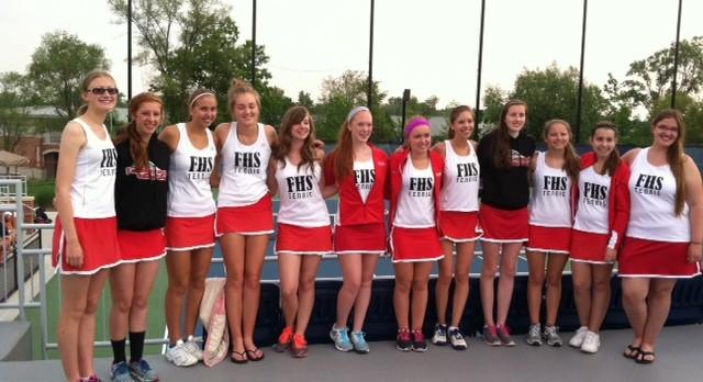 Girls Tennis @ Holland (State Finals)