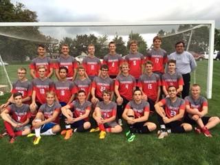 Frankenmuth High School Boys Varsity Soccer ties Flushing High School 3-3