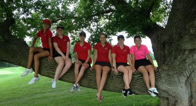 Girls Golf Jamboree in Alma