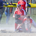 Varsity softball at Beaverton Tournament 04-22-2017