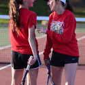 Girls Tennis – Caro & Bullock Creek 5/11/17